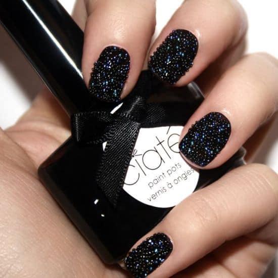 Black Pearls Caviar Manicure by Ciate