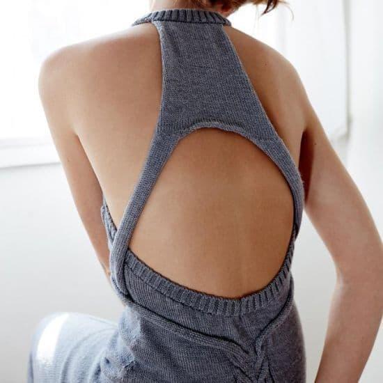 Carmen Cable Knit Dress by Kaylene Milner