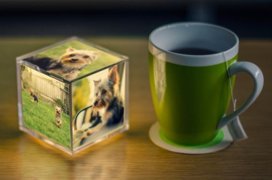 Cubee - The Illuminating Instagram Photo Cube