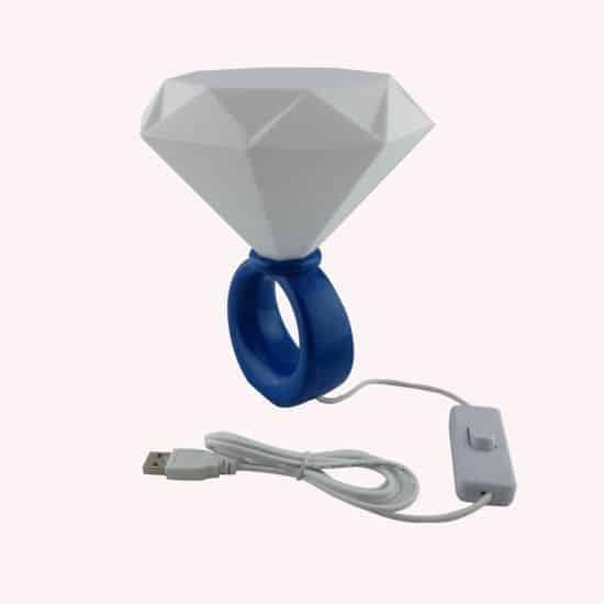 Diamond Ring Shaped LED Nightlight