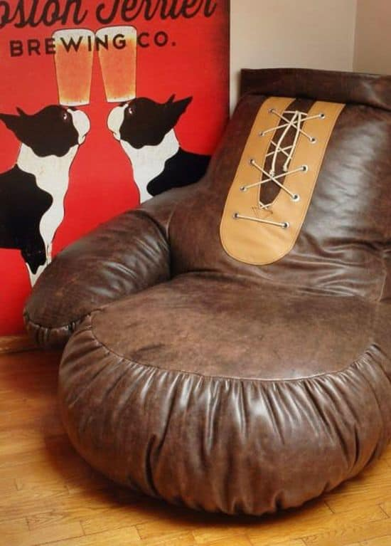 Giant Boxing Glove Bean Bag Chair