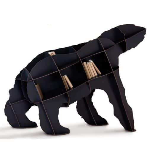 Iron Joe Polar Bear Bookcase