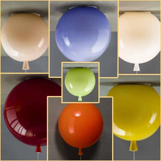 Memory Balloon Lights by John Moncrieff
