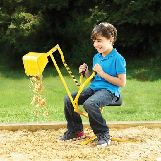 The Classic Sit-On Sand Excavator