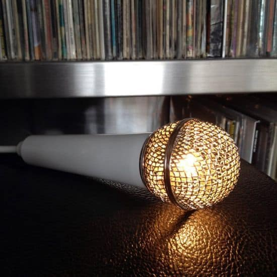 Microphone Light Pendant