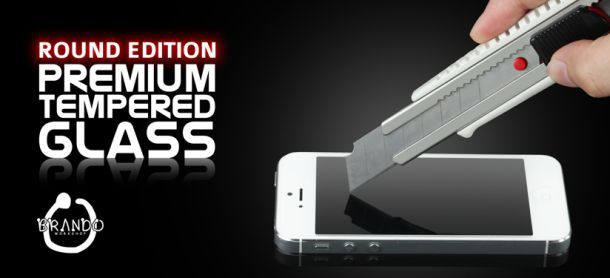 Brando Workshop Premium Tempered Glass Protector (Rounded Edition)