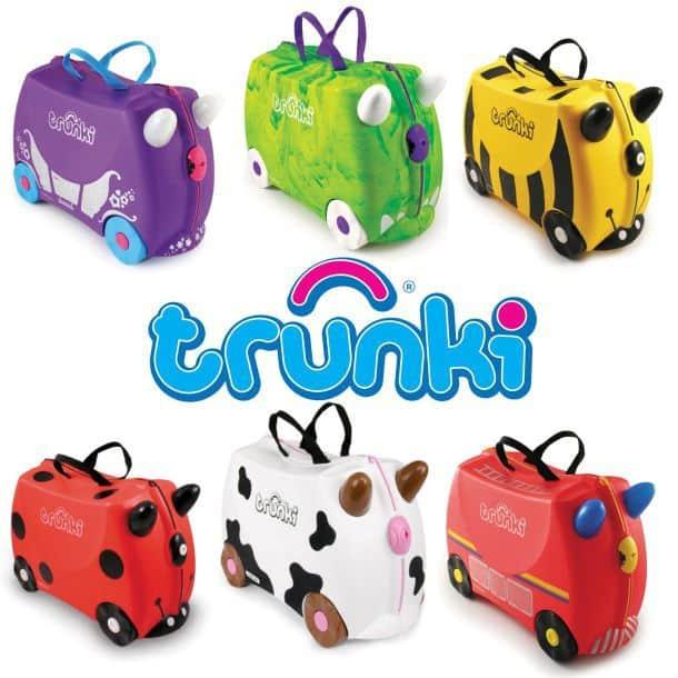 Детские чемоданы на колёсиках trunki купить, цены, отзывы, фото IB410