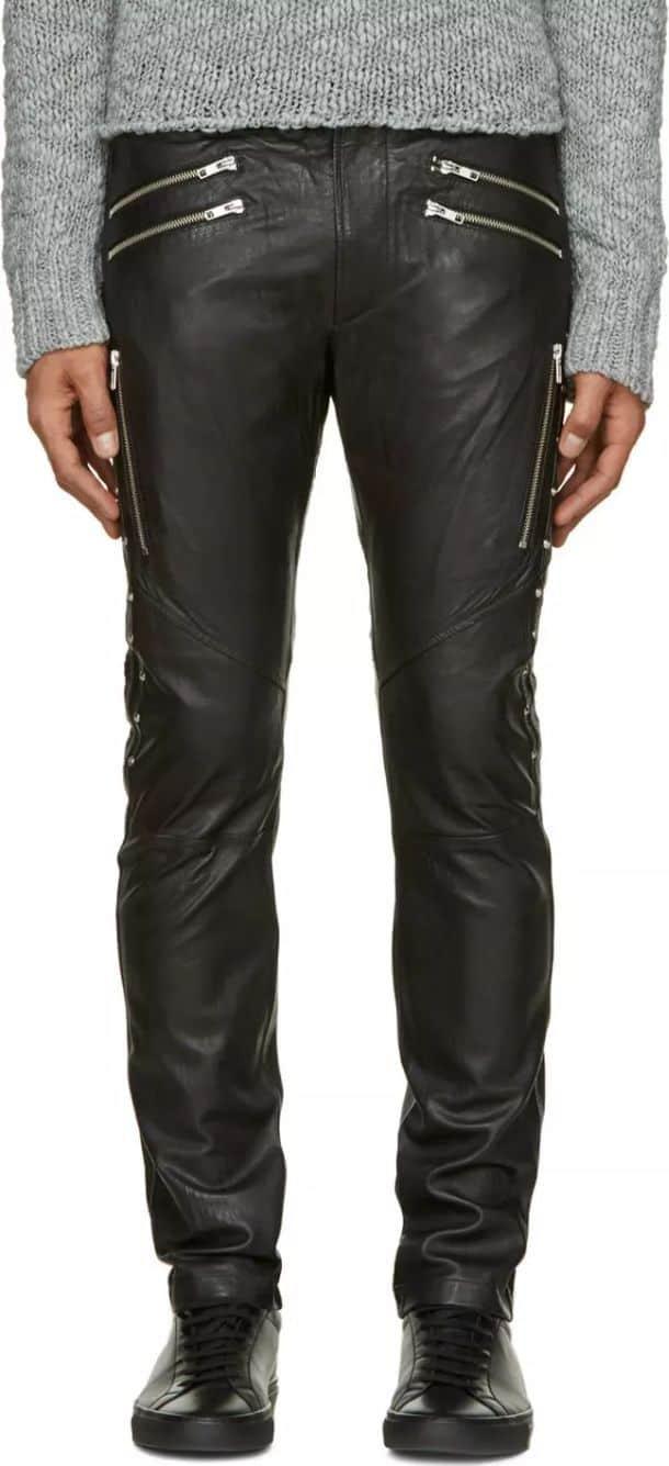 Купить кожаные джинсы