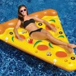Swimming Pool Inflatable Pizza Slice Float Raft