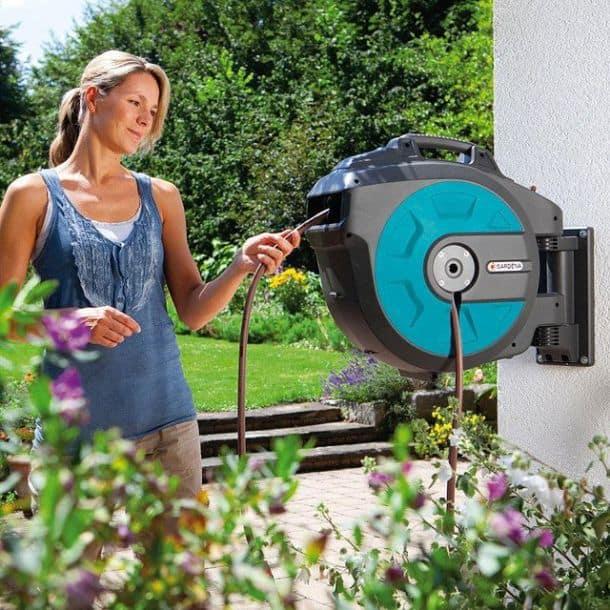 Автоматическая катушка для шланга Gardena 8023-20