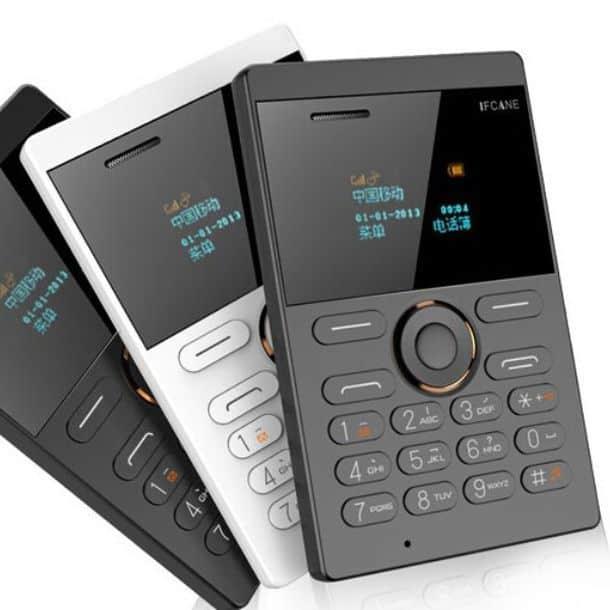 Ультратонкий мобильный кардфон IFcane E1