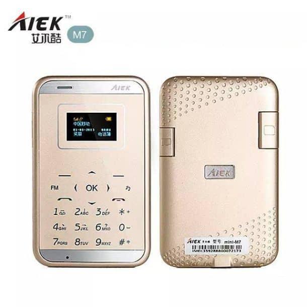 Ультратонкий мобильный телефон AIEK М7