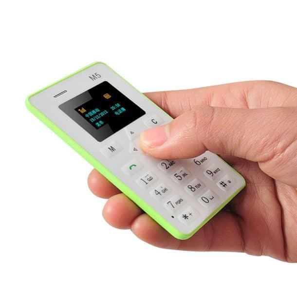 Ультратонкий мобильный телефон AIEK M5