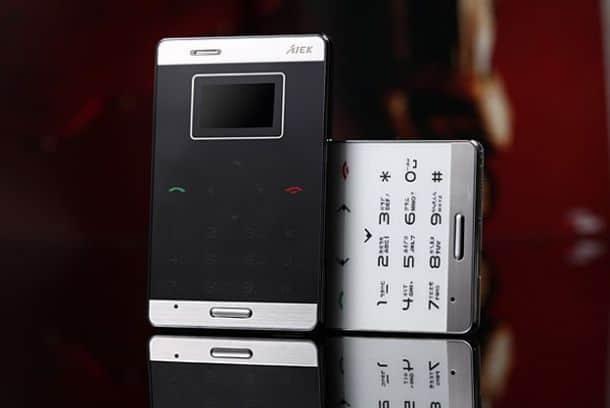 Ультратонкий мобильный телефон Aiek М3
