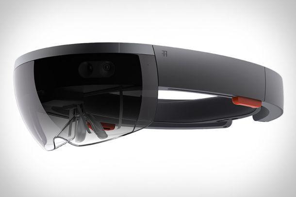 Голографическая линза Microsoft HoloLens