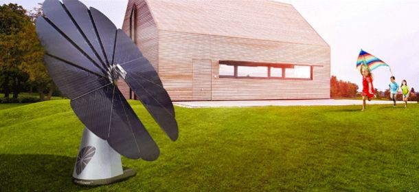 Солнечная батарея Smartflower POP
