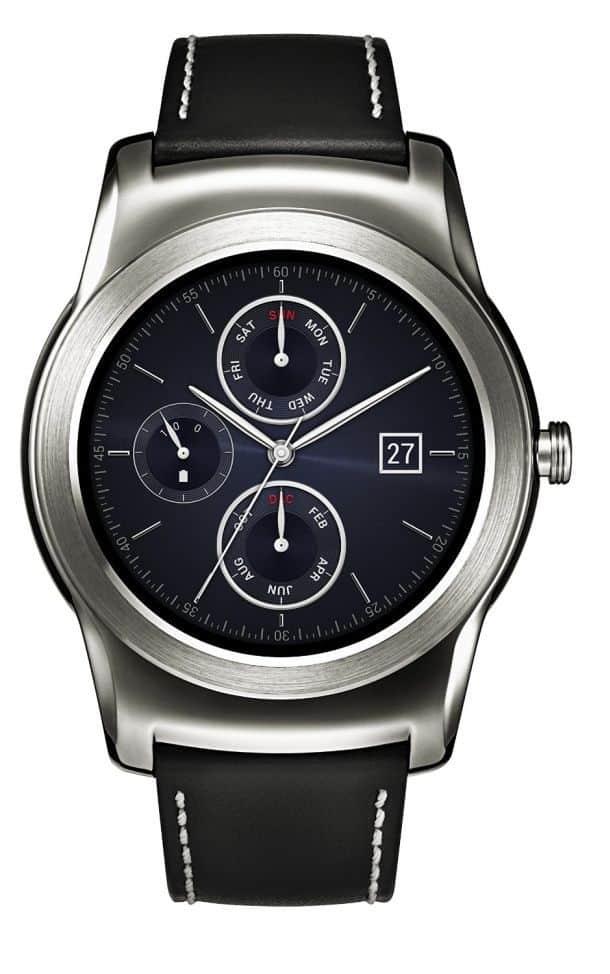 Умные наручные часы от LG