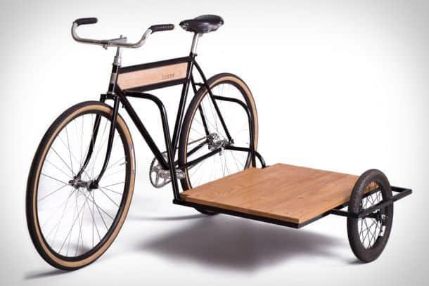 Как сделать коляску на велосипед