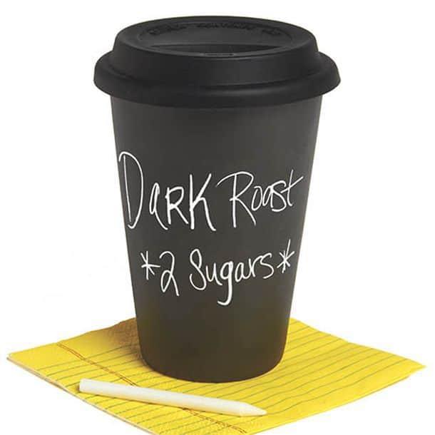 Термокружка c поверхностью для рисования мелом DCI - I Am Not A Paper Cup-