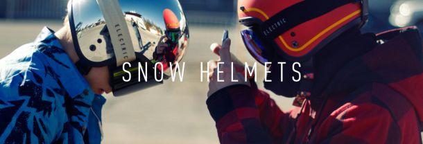 Защитный шлем в стиле 60-х Electric Mashman Snow