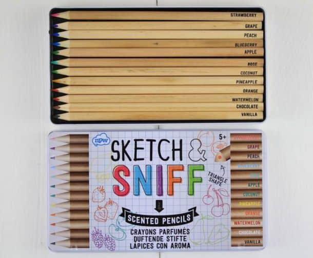 Ароматизированные цветные карандаши Sketch and Sniff