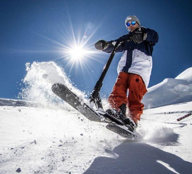 Снежный самокат SnowPark