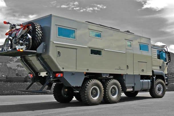 Жилой грузовик Action Mobil's Global XRS 7200