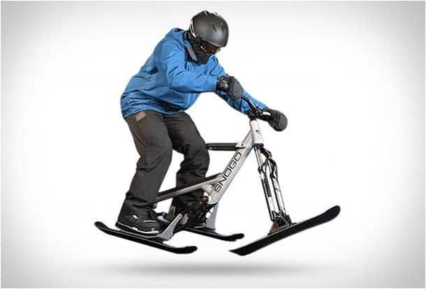 Снеговой велосипед Snogo