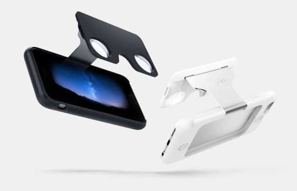 Чехол для айфонов с очками виртуальной реальности Figment VR