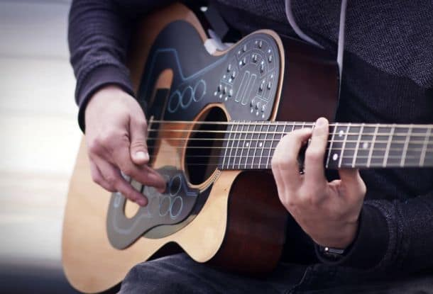 Электронная приставка-оркестр для акустической гитары ACPAD
