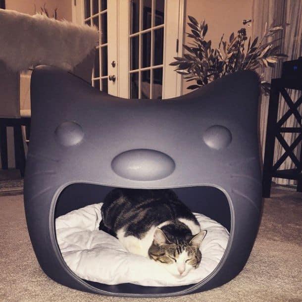 Кошачий спальный домик Kitty Meow