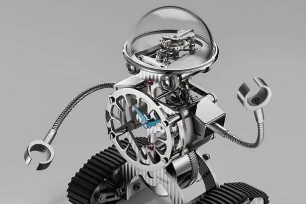 Настольные часы-робот MB&F Sherman