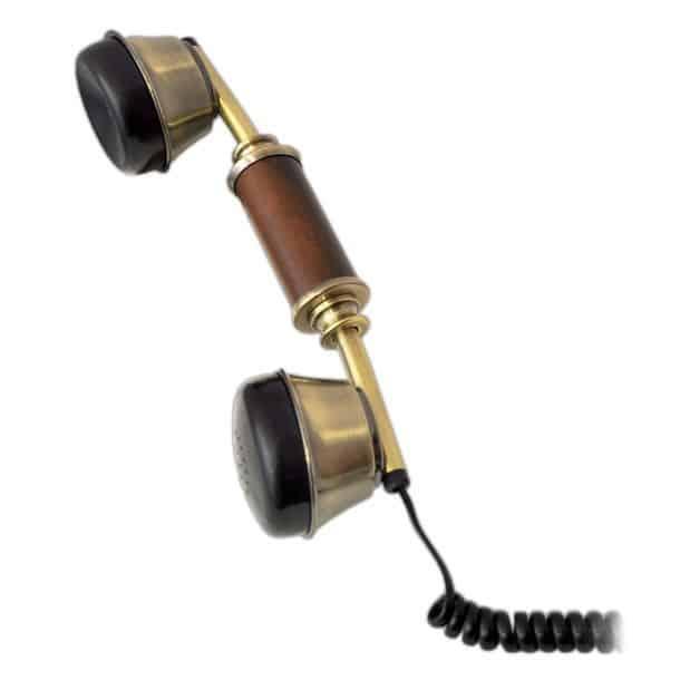 Ретро телефон Pyle PRT35I с зарядным устройством для мобильных устройств под iOS