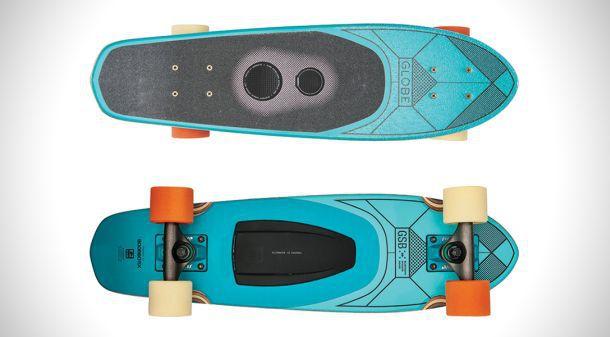 Скейтборд со встроенными Bluetooth колонками GLB-GSB Blazer