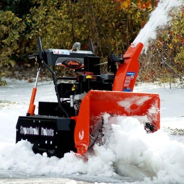 Снегоуборочная машина-робот 4WD Snow Blower RC Robot