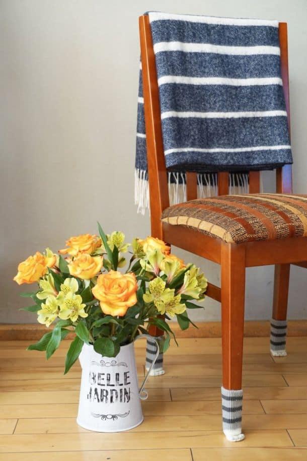 Носочки для стульев в виде кошачьих лапок