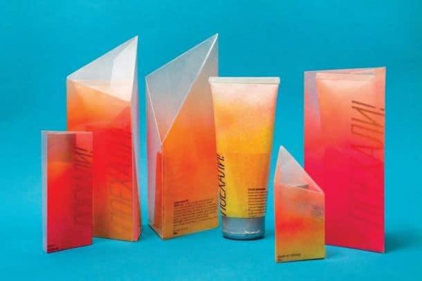 Упаковки для солнцезащитных средств от Евгении Кузнецовой
