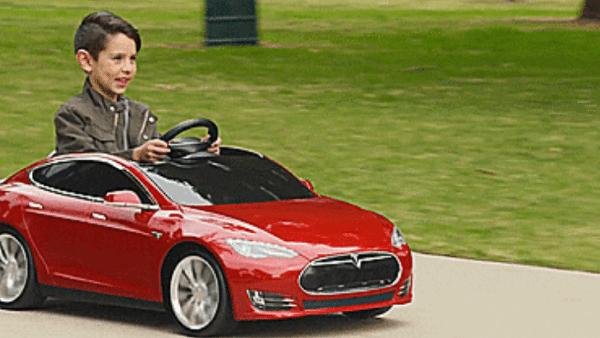 Детский электромобиль Tesla S