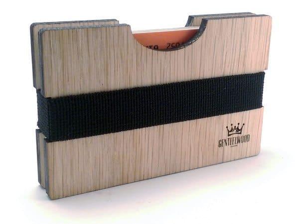 Деревянный бумажник Skeggox на Goodsi.ru