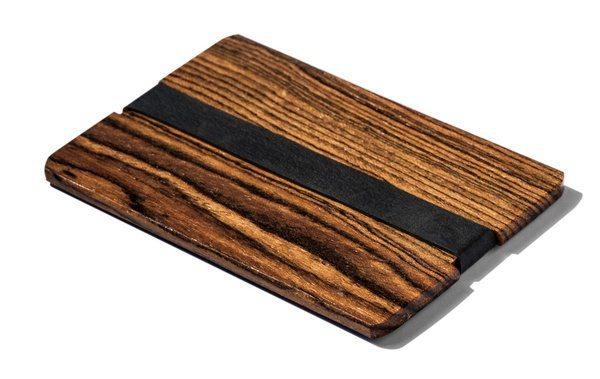 12 уникальных мужских бумажников из дерева