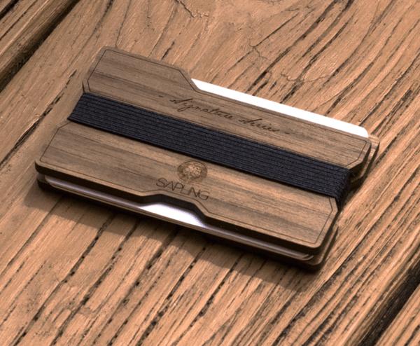 Бумажники Sapling с индивидуальной гравировкой на Goodsi.ru