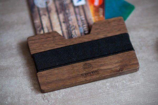Бумажник из дерева от компании Twin Woods на Goodsi.ru