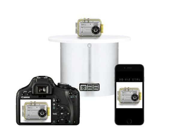 Поворотный стол ATXS360 для 3D-фотографий