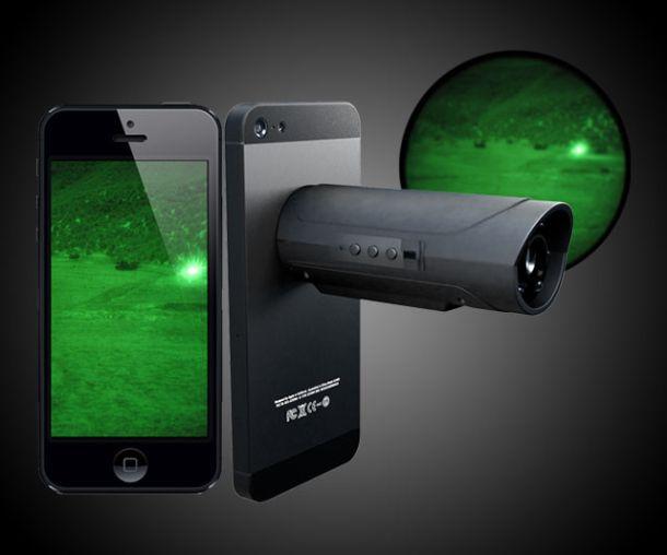 Прибор ночного видения для смартфонов Snooperscope
