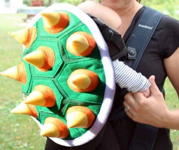 Рюкзак-переноска для детей Bowser