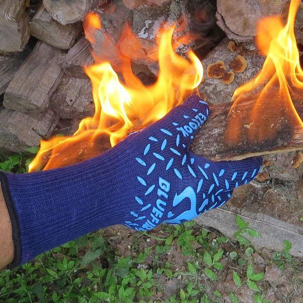 Огнеупорные перчатки для барбекю Bluefire