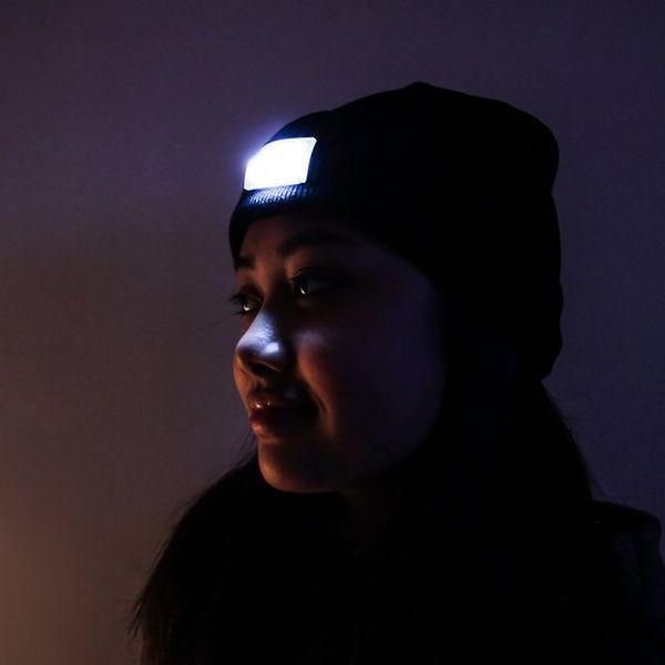 Повседневная шапка-фонарь