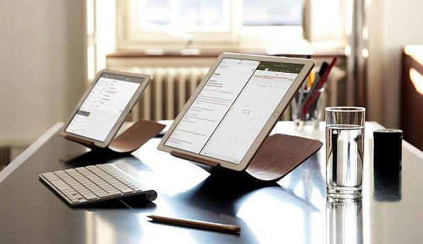 Изогнутые трехпозиционные подставки для iPad Yohann