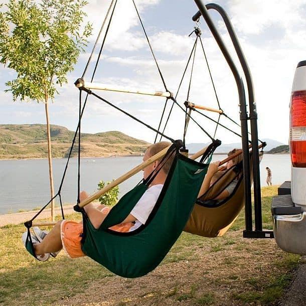 Двойное подвесное кресло-прицеп Hammaka