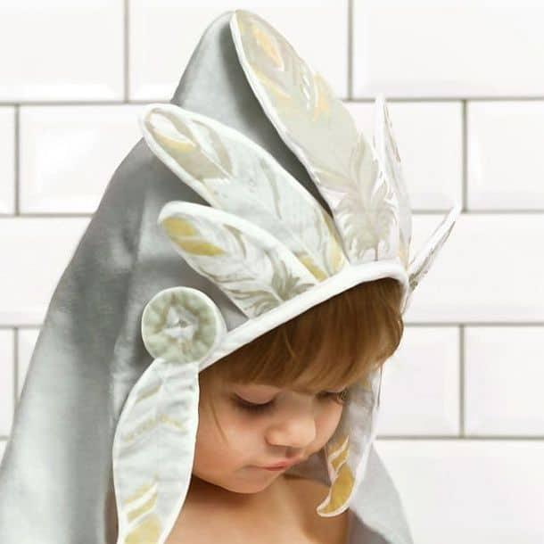 Детское полотенце с капюшоном «Вождь»